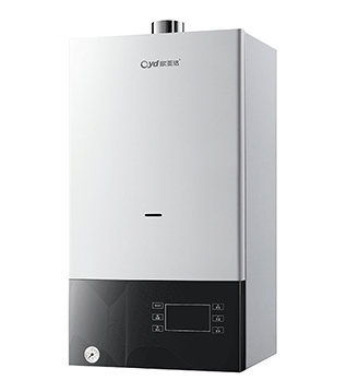 天然气挂壁式迅速供暖电热水器